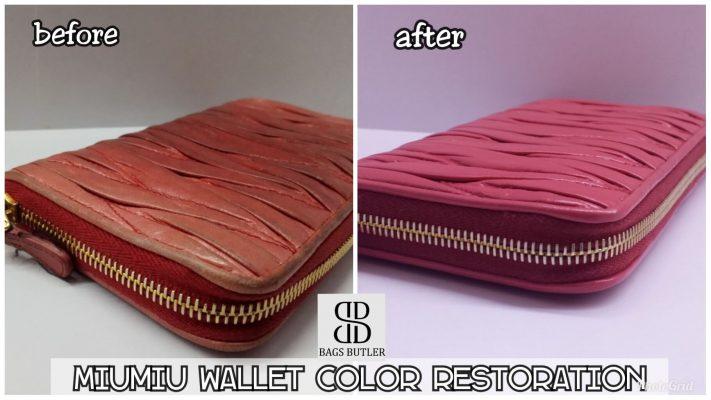 Wallet Color Restoration Singapore