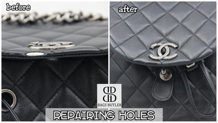 Repairing holes Bagsbutler Singapore