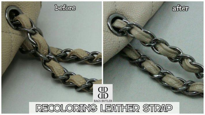 Recolorig Leather Strap BagsButler Singapore