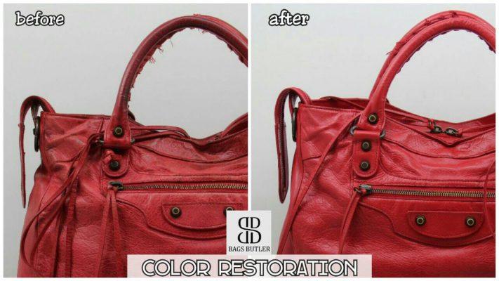 Handbag Color Restoration Singapore
