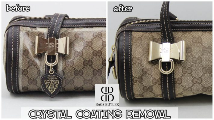 Crystal Coating Removal Bagsbutler Singapore