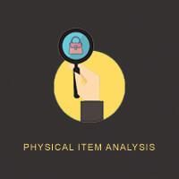 Bags Butler Physical Item Analysis